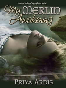 """72dpi MyMerlinAwakening 400 300 Cover Reveal for the """"My Merlin Series"""" + Book Giveaway"""