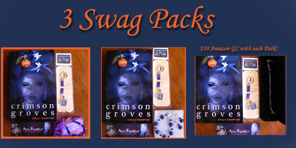 crimsongrovesswagpacks Crimson Groves Book Tour: Enter to Win One of 3 Swag Packs with $10 Amazon GC