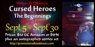 Cursed heros Cursed Heroes- The Beginning: Win a $50 Amazon or BN Gift Card!