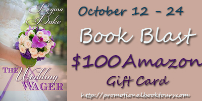 Theweddingwagerbadge Wedding Wager Book Blast: $100 Amazon GC Giveaway