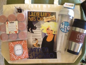giveaway2 Lady Luck Runs Out Book Blast: Win Swag Packs and Autographed Books