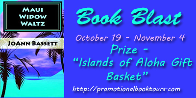 Maui Widow Waltz Book Blast: Win an Islands of Aloha Gift Basket