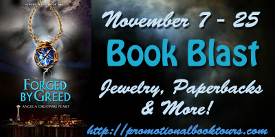 Forged by Greed Book Blast: Win Gorgeous Jewelry and More!