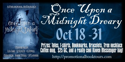 MNDbanner Once Upon a Midnight Dreary Book Blast: $25 Amazon GC and Awesome Swag Giveway