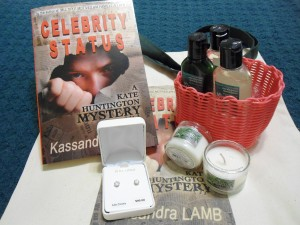 Celebrity Status Giveaway goodies