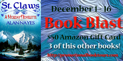 StClawsbadge St. Claws Book Blast: Win a $50 Amazon Gift Card