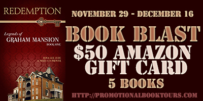 redemptionbadge Redemption (Legends of Graham Mansion) Book Blast: $50 Amazon GC Giveaway
