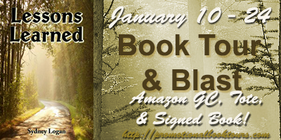 Lessons Learned Book Tour: Win a $10 Amazon GC, Signed copy, and Tote