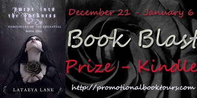 Swept Into The Darkness Blast: Win a Kindle
