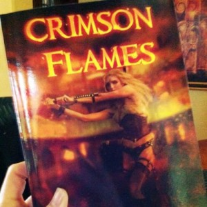 CF for gift basket Crimson Flames Book Blast: Awesome Swag Pack Giveaway