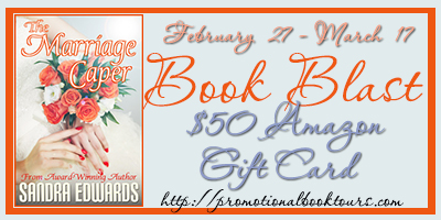 Themarriagecaperbutton The Marriage Caper Book Blast: $50 Amazon Gift Card Giveaway