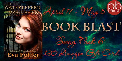 The Gatekeeper's Daughter: $30 Amazon GC and Book Goodies Giveaway