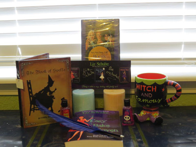 Witch Gift Basket Hungry, Hungy Hoodoo and Easy Bake Coven Blast: Win a Gift Basket