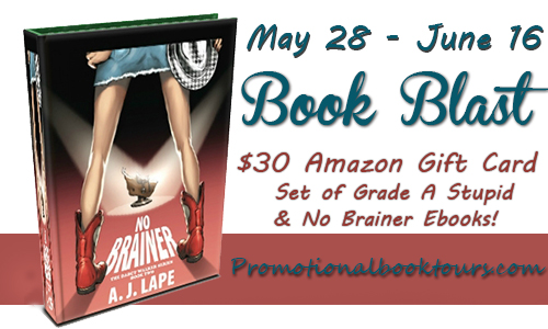 nobrainerblast No Brainer Book Tour: $30 Amazon Gift Card Giveaway
