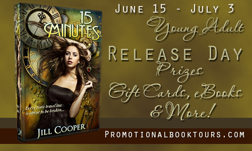 15minbanner1 15 Minutes Release Day Promo: $15 Amazon Gift Card Giveaway and So Much More!