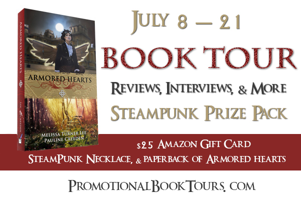 ArmoredHeartsBanner Armored Hearts Tour: Take a Peek Behind the Scenes + Steampunk Prize Pack Giveaway!