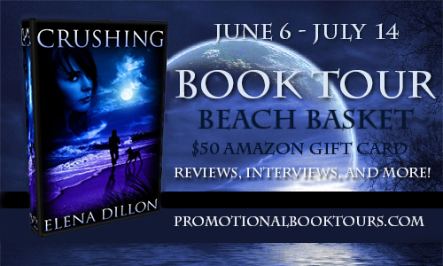 Crushingbanner Crushing Book Tour: $50 Amazon GC and Beach Basket Giveaway
