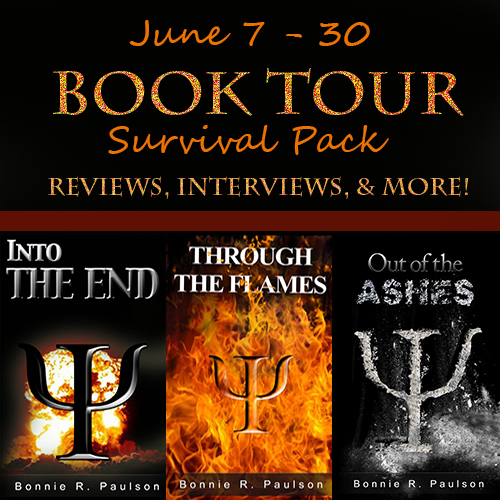 IntotheEndtourbanner Into the End Book Tour: Survival Pack Giveaway