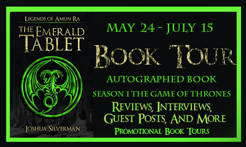 Legends of Amun Ra: The Emerald Tablet Book Tour+ Giveaway