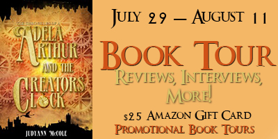 AdelaBanner1 Adela Arthur and The Creator's Clock Review + $25 Amazon GC Giveaway