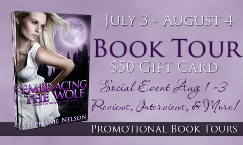 Embracingthewolfbanner Embracing the Wolf Book Tour: $50 Amazon Gift Card Giveaway