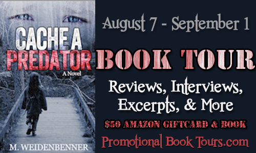 Cachebanner Cache A Predator Book Tour: $50 Amazon Gift Card Giveaway