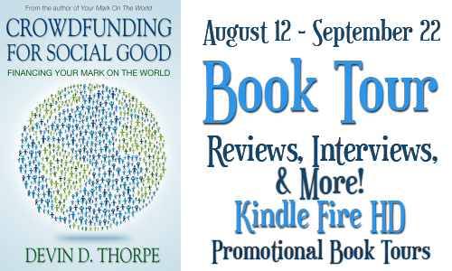 Crowdfundingbanner Crowdfunding for Social Good Book Tour: Kindle Fire Giveaway