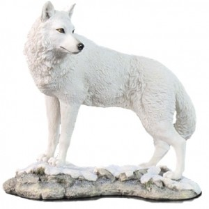 white wolf The Howling Heart Release Blast: White Wolf Sculpture Giveaway