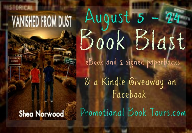 Vanished From Dust Promo Blast: Kindle Giveaway!