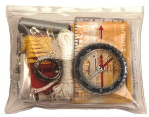 Lifeline 26-Piece Ultralight Survival Kit