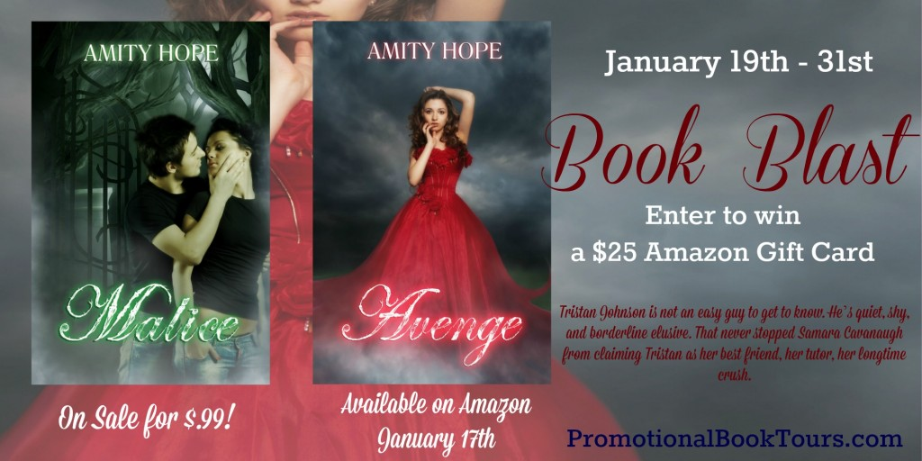 Avenge Book Blast: Enter for a chance to win a $25 Amazon Gift Card! Ends 1/31