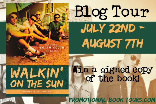 walkin on the sun blog tour banner