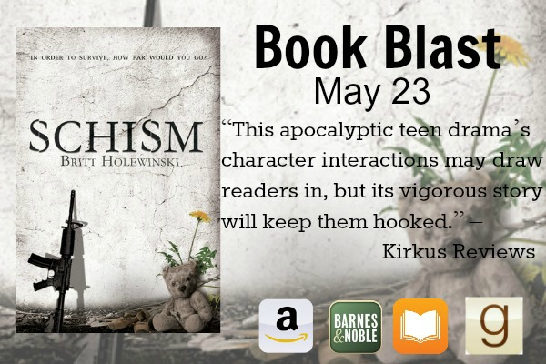 """Schism"" is the first book in a new dystopian trilogy that tells a tale of survival, of good versus evil, and of constructing a future with only memories of childhood."