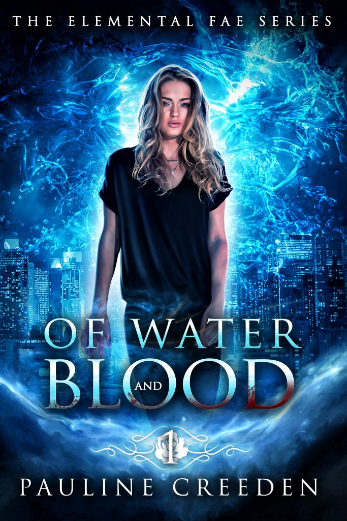 Ebook Of Water and Blood by Pauline Creeden Cover Reveal