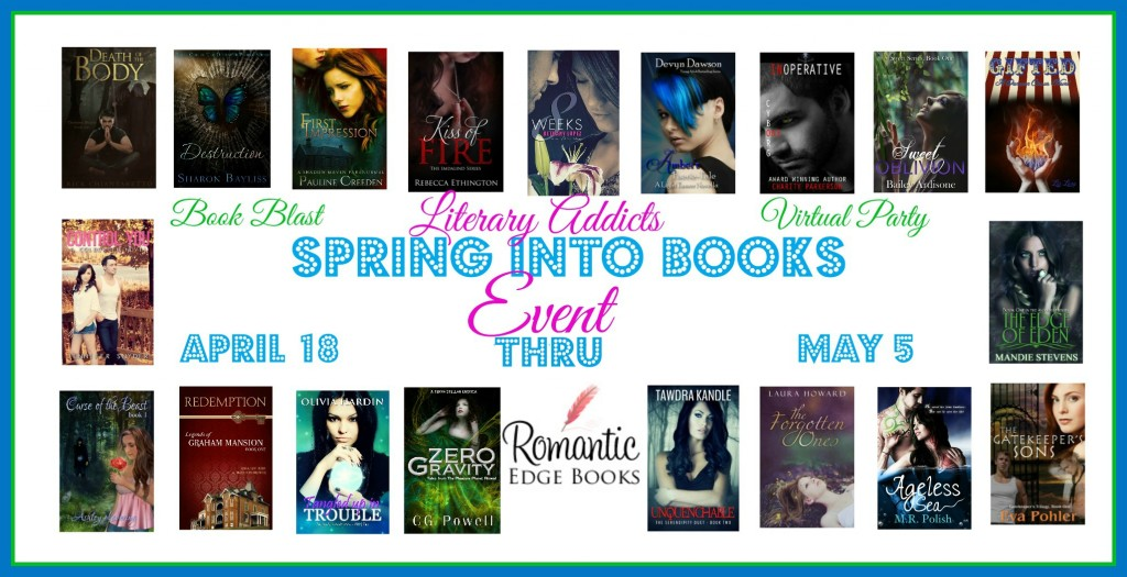 SPRING INTO BOOKS – APRIL 18 THROUGH MAY 5