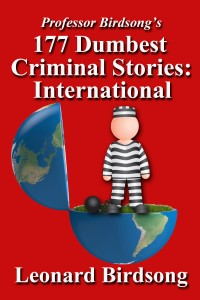 177 dumbest criminal stories international - cover  copy