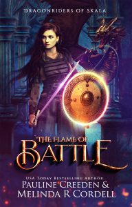 "Get ""The Flame of Battle"" by Pauline Creeden - Available Now!"