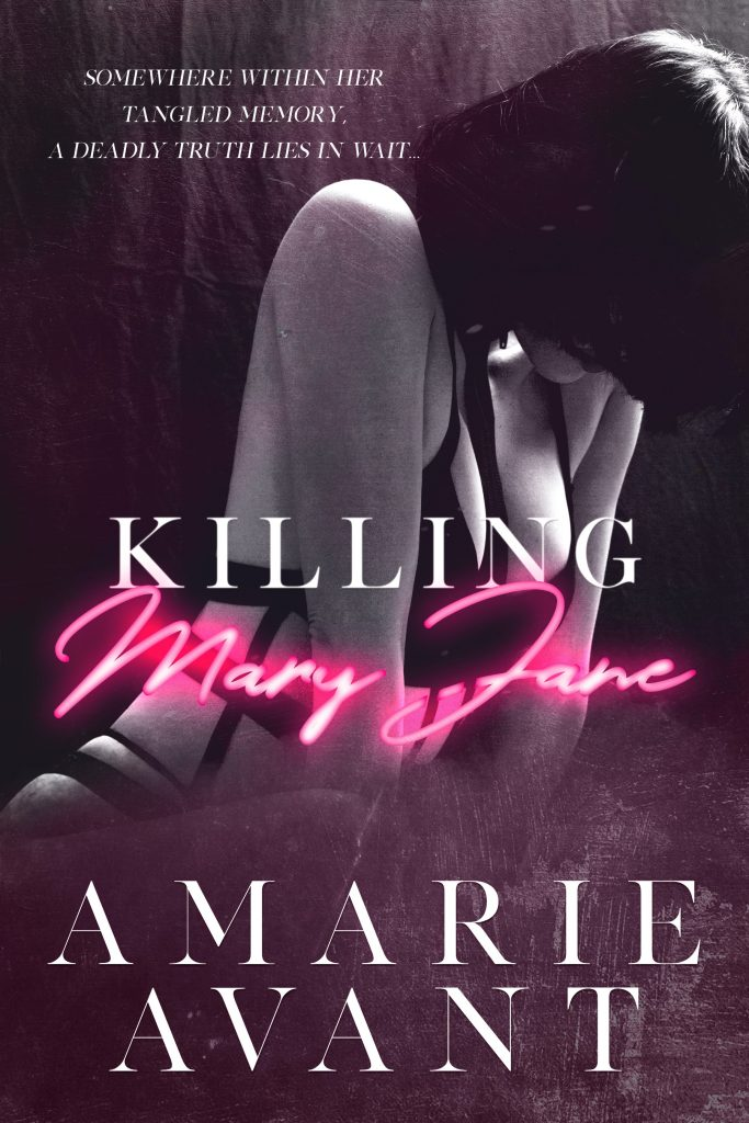 Book Cover for thriller Killing Mary Jane by Amarie Avant