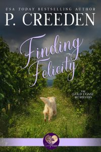 Book Cover for sweet romance Finding Felicity by Pauline Creeden.