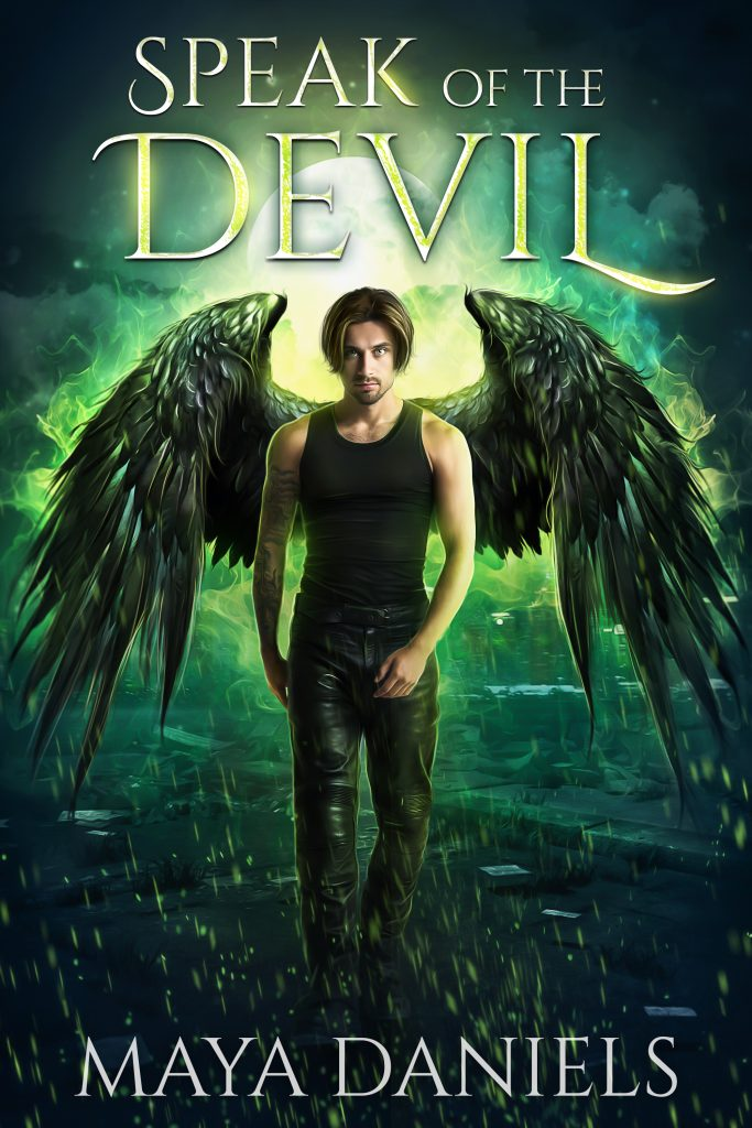 Speak of the Devil (The Broken Halos Series) Cover Reveal & Pre-Order Sale