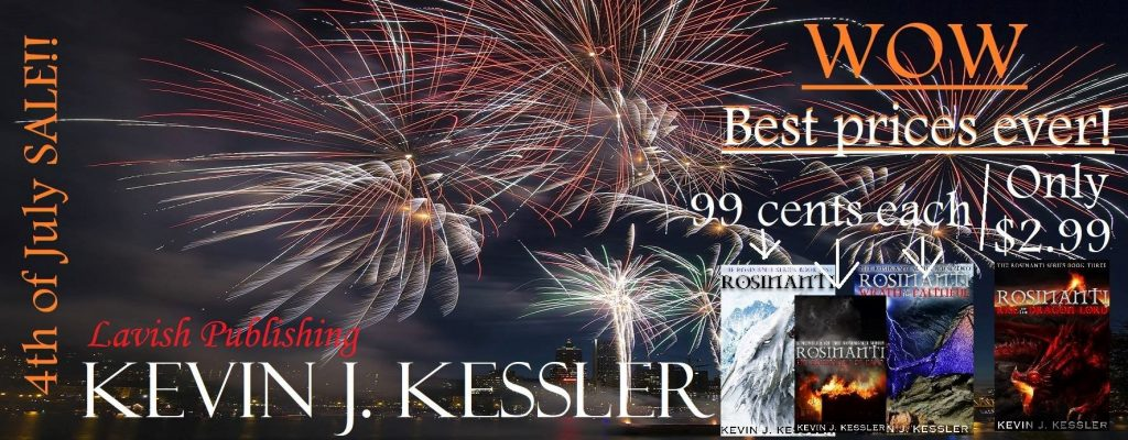 kevinkessler Rosinanti (A Ya Book for Dragon Lovers) is Currently FREE on Amazon